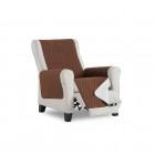 B-Stretch Stuhlhusse ohne Rückenlehne Stark- Zweier Set